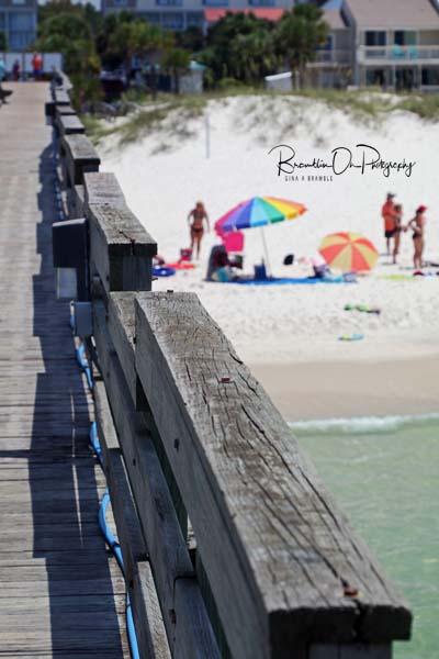 Mexico Beach Pier print for sale.