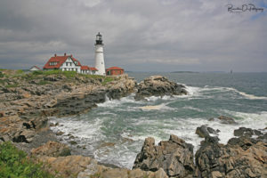 Portland Head Light print for sale.
