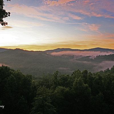 Mountain Sunrise print for sale.